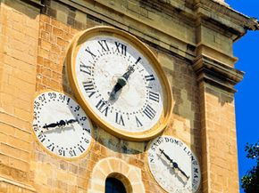 Clocks can be found just about everywhere.
