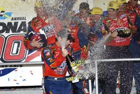 As Jeff Gordon found out, winning the Daytona 500 can make a NASCAR driver's career. Gordon won the race in and 2005 [shown here]. See more NASCAR pictures.