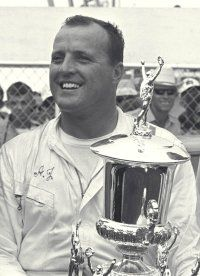 A.J. Foyt outdueled the NASCAR regulars to the checkered flag.