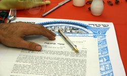 The signing of the Ketubah is one of the most important parts of most Jewish weddings.