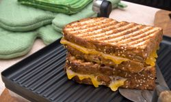 Grilled cheese sandwiches are always a gooey, yummy hit.