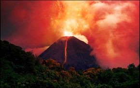 The background rate of extinction is the number of animals that become extinct without extreme events like massive volcanic eruptions.