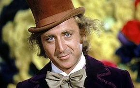 Gene Wilder stared in the original film about a famous chocolate factory.