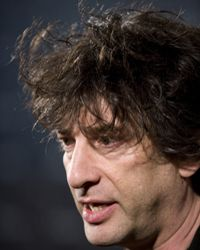 Neil Gaiman is a popular science fiction and fantasy author.