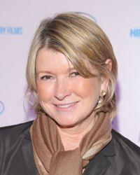 Martha Stewart flashes her trademark cute smile.