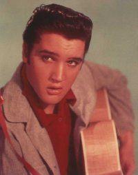 """Elvis Presley is known as                              """"The King of Rock 'n' Roll."""""""