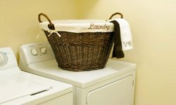 A top-load washer may seem out of date, but it's actually pretty practical -- and efficient.