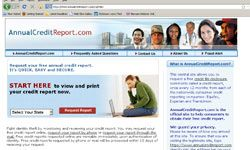 AnnualCreditReport.com is the only site that provides free credit reports from Equifax, Experian and TransUnion.