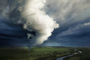 Can a tornado cross a river? A tornado can go wherever the heck it wants, whenever it wants.