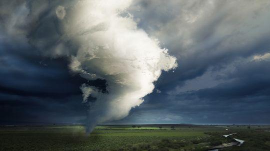 Can a tornado cross a river?