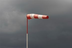 """Remember the tornado in """"The Wizard of Oz?"""" It was made from a 35-foot (11-meter) long windsock."""