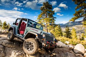 The 2013 Jeep Wrangler Rubicon 10th Anniversary Edition
