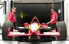 This is race car driver Juan Montoya's trailer. Yours probably won't be as flashy.