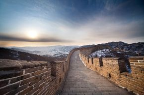 Image Gallery: Famous Landmarks Parts of the Great Wall have already been hurt by tourism. See more pictures of famous landmarks.