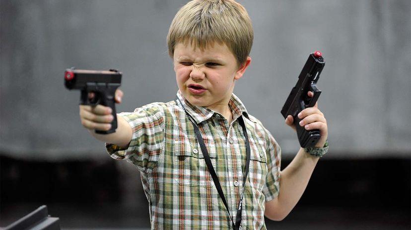 toy, gun