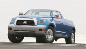 The future of the Toyota full-size truck -- the FTX.