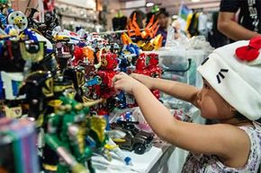Collectors, hobbyists and families flocked to the opening of the 11th Philippine Toy Convention (ToyCon) in 2012.  The convention showcases new and classic toys, ranging from action figures to comic books and other collectibles.