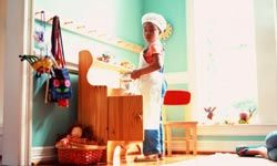 Kitchen sets encourage creativity and teach many useful skills to kids.