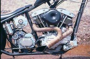 The Tramp's Delkron engine.