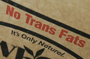 Trans fats have received so much bad press that many food manufacturers go out of their way to proclaim their product free of the stuff. But if one of the ingredients listed is a type of partially hydrogenated oil, watch out.