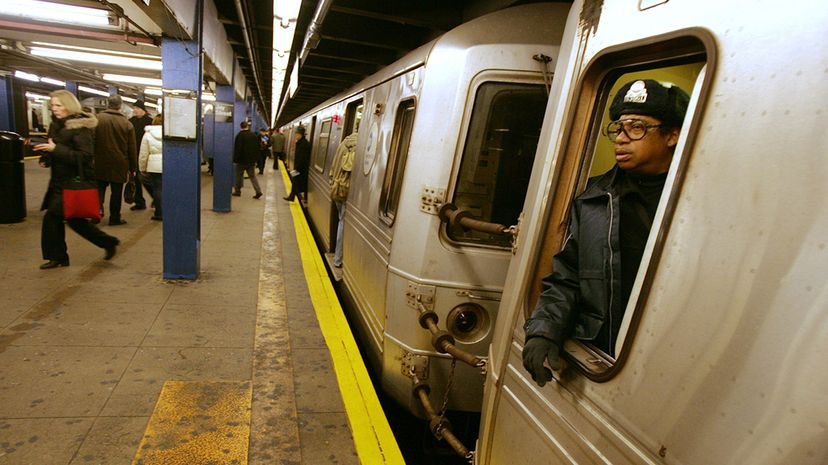 A new policy has subway conductors in New York City telling passengers the truth about why their trains are delayed. Daniel Barry/Getty Images