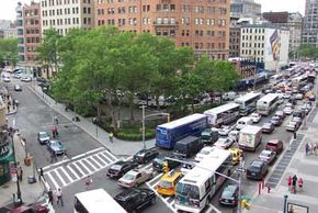 Many factors can contribute to traffic congestion, but the most basic explanation is that the number of drivers trying to use the same road is so high that it goes beyond the road's capacity to handle cars.
