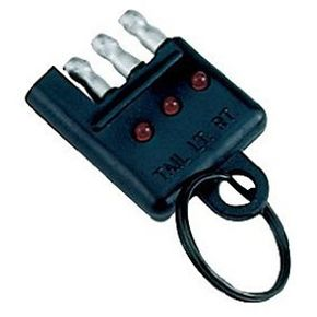 The Reese Towpower 74633 4-Way Tester is one of the simpler trailer wiring testers on the market.