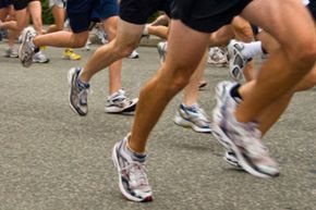 Have someone at a shoe store check your gait for the right type of running shoes.