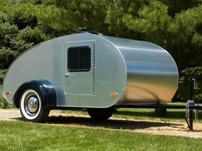 If you just want the bare necessities, you should look into teardrop trailers.