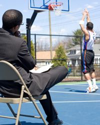 To make a great athletic scout, you have to know how to spot extraordinary talent in others.