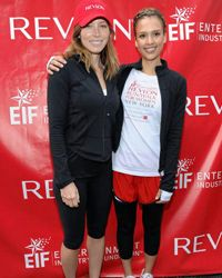 Save the leggings for your workouts like Jessicas Biel and Alba. They don't belong on a night out on the town.
