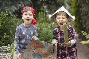 Your kids will have a blast hunting for treasure at their next birthday party. See pictures of classic toys and games.