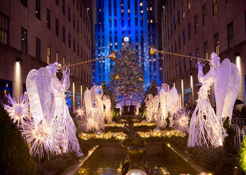Rockefeller Center, Christmas tree