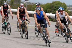 Whether in training or in a race, a triathlete needs to eat more than the average person.