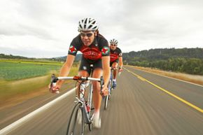 Covering miles upon miles on long training rides can be tedious alone. The motivation and encouragement from a group can spur better performances and help athletes get to the finish line without burning out.