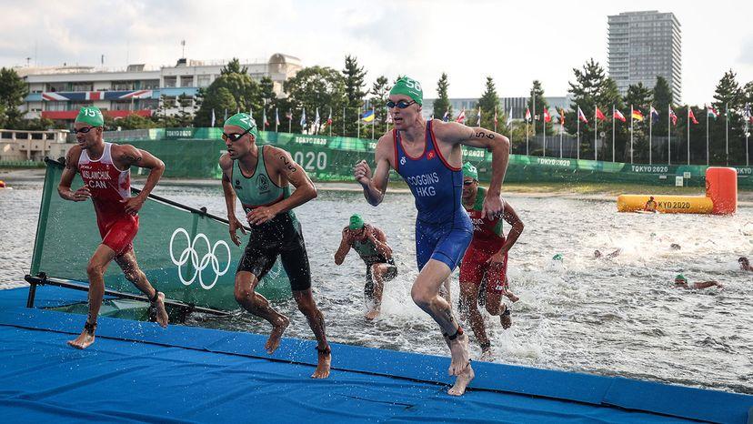 Oscar Coggins triathlon Olympics