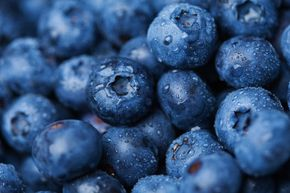 Blueberries are an excellent source of antioxidants.