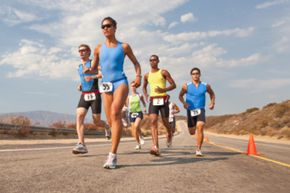 Is there any risk in running a triathlon?