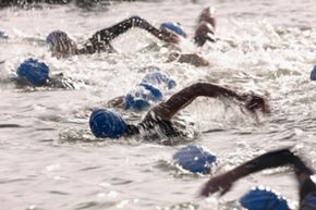 Drowning during the swimming portion of a triathlon is a potential danger.