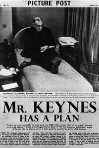 John Maynard Keynes was a well-known British economist in the 1930s. His policies were popular in the struggling United States during the Great Depression and in Great Britain during World War II.