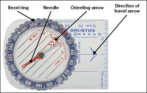 Adjust your compass to find true north.