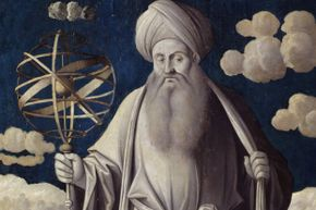 Many of Claudius Ptolemy's ideas about the cosmos dominated, that is, until Copernicus came along.