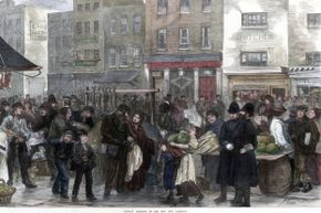 Victorian Londoners thought their crowded city was bursting with various foul miasmas.