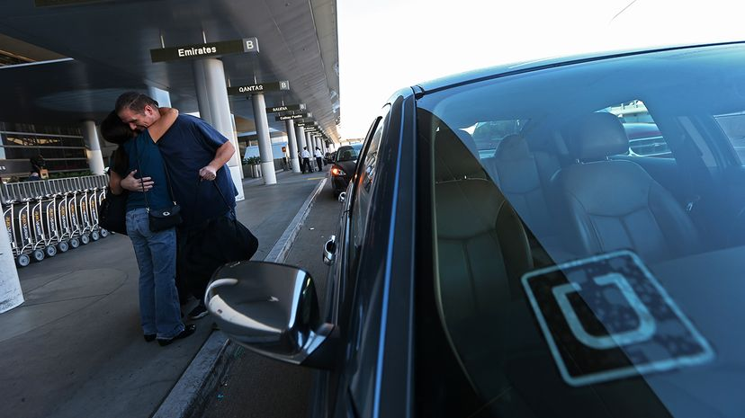Ride-sharing companies like Lyft and Uber are changing the way people get around their cities. Robert Gauthier/Los Angeles Times/Getty Images