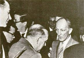 Donald Keyhoe was the most famous ufologist of the 1950s.