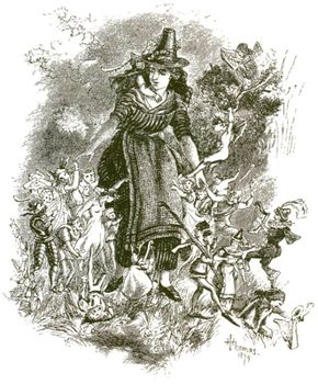 Some writers claim that traditional beliefs about fairies anticipated today's UFO encounters. Shu Rhys, a 19th-century Welsh woman, reputedly went away with fairies and never returned.