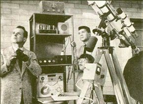 In the 1950s George Hunt Williamson (left) allegedly received radio communications from extraterrestrials. He was one of the most influential figures in the contactee movement.