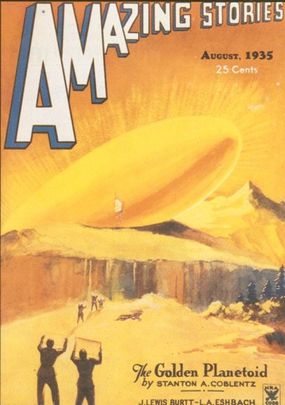 """Ray Palmer, editor of Amazing Stories, introduced the magazine to articles on """"true mysteries."""" Even before 1947, contributors to Amazing Stones speculated about extraterrestrial visitation, drawing on the writings of Charles Fort."""