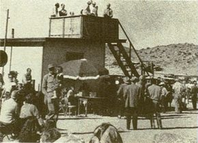 Contactees who once gathered at Giant Rock, California (above), now meet in Laramie, Wyoming.