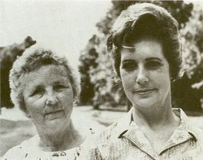 Vickie Landrum (left) and Betty Cash fell victim to radiation sickness after a December 1980 close encounter.